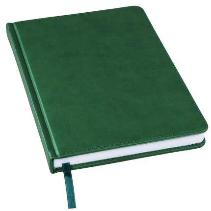Ежедневник недатированный Bliss, А5, тёмно-зелёный, белый блок, без обреза