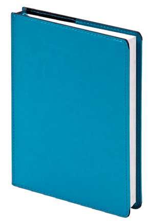 """Ежедневник недатированный (бренд InFolio) коллекция """"Barcelona"""", формат A5, переплёт суперобложка, цвет морская волна"""