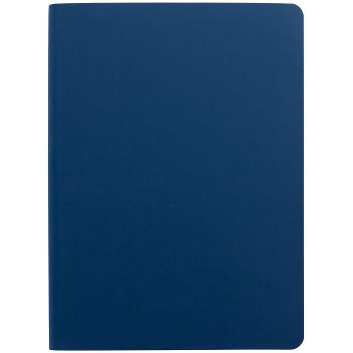 Ежедневник недатированный Flex Shall, размер 15х21 см (формат A5), цвет синий