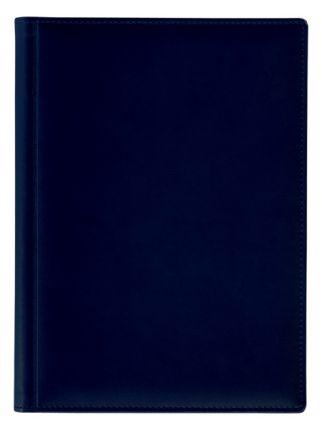 Ежедневник полудатированный Lediberg, блок 789, модель Топ, размер 210х297 мм, цвет синий темный