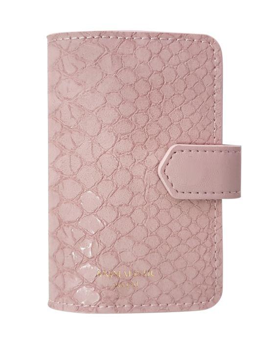 Визитница на 1 окно Animalistic, цвет  розовый, мягкий, размер 7,7х10,5