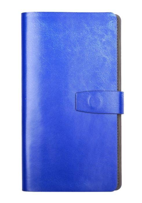 Ежедневник недатированный Infolio Iconic синий, мягкая суперобложка, размер 12х21