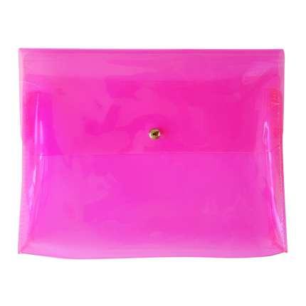 Папка Neon розовый, Infolio  -, размер А5+