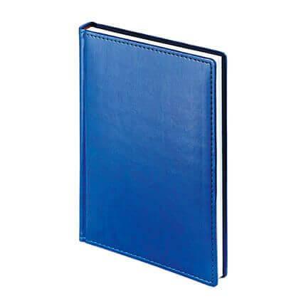 Ежедневник датированный VELVET (АР), формат A5, белая бумага, цвет синий
