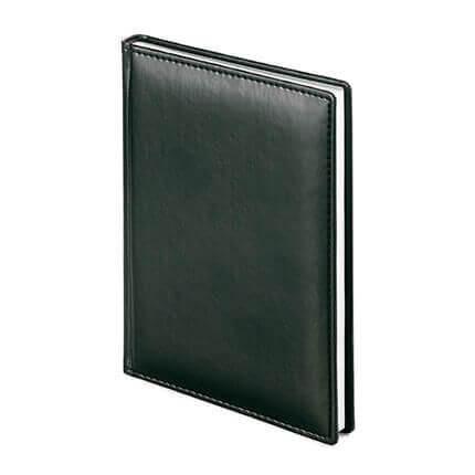 Ежедневник датированный VELVET (АР), формат A5, белая бумага, цвет черный