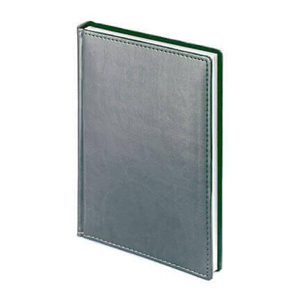 Ежедневник недатированный VELVET (АР), формат A5, белая бумага, цвет серый