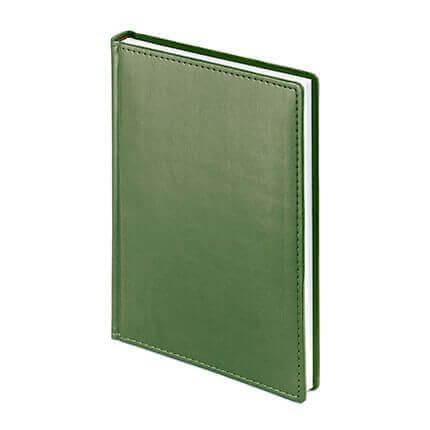 Ежедневник недатированный VELVET (АР), формат A5, белая бумага, цвет оливковый