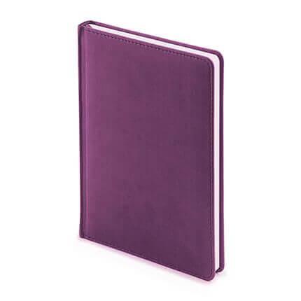 Ежедневник недатированный VELVET (АР), формат A5, белая бумага, цвет фиолетовый