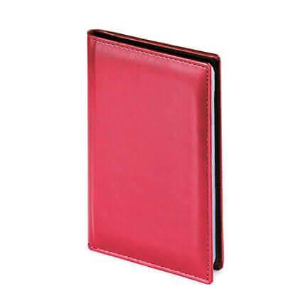 Визитница VELVET (АР), на 72 визитки, цвет бордовый