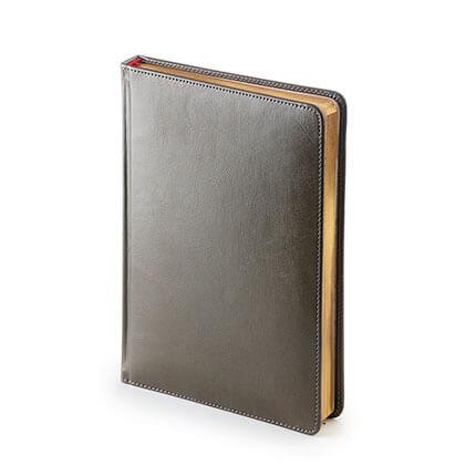 Ежедневник датированный SIDNEY NEBRASKA (АР), формат A5, белая бумага, цвет серый