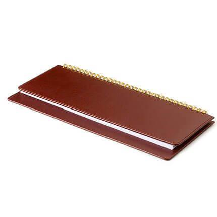 Планинг недатированный SIDNEY NEBRASKA (АР), с открытым гребнем 30,5х13 см, белая бумага, цвет коричневый