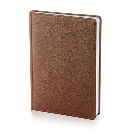 Ежедневник датированный LEADER (АР), формат A5, белая бумага, цвет коричневый