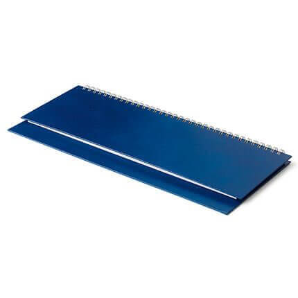 Планинг недатированный IDEAL NEW (АР), с открытым гребнем 30,5х13 см, белая бумага, цвет зеленый