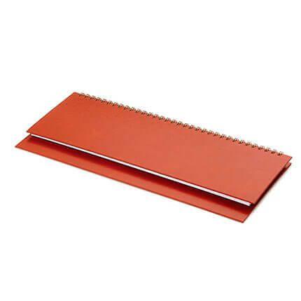 Планинг недатированный IDEAL NEW (АР), с открытым гребнем 30,5х13 см, белая бумага, цвет коричневый