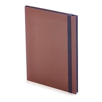 Еженедельник недатированный TANGO (АР), формат B5, обрез графитовый, бежевая бумага, цвет коричневый
