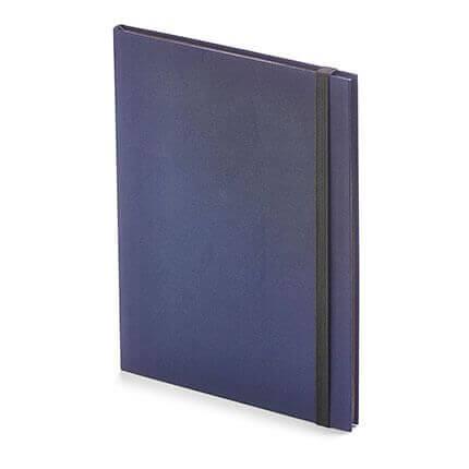 Еженедельник недатированный TANGO (АР), формат B5, обрез графитовый, бежевая бумага, цвет синий