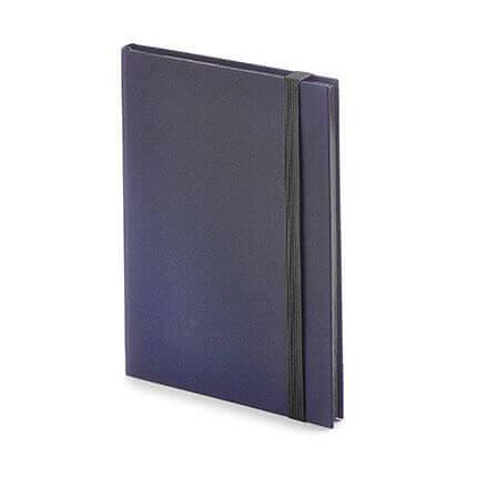 Еженедельник недатированный TANGO (АР), формат B6, обрез графитовый, бежевая бумага, цвет синий