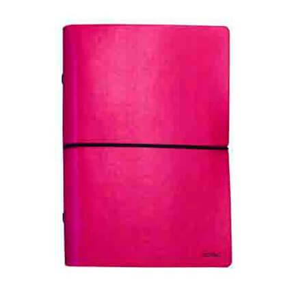 Органайзер CIAK (АР), формат A6, на кольцах, белая бумага, в подарочной коробке, цвет красный