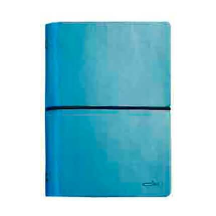 Органайзер CIAK (АР), формат A6, на кольцах, белая бумага, в подарочной коробке, цвет небесно-голубой
