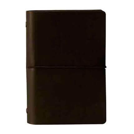 Органайзер CIAK (АР), формат A6, на кольцах, белая бумага, в подарочной коробке, цвет черный