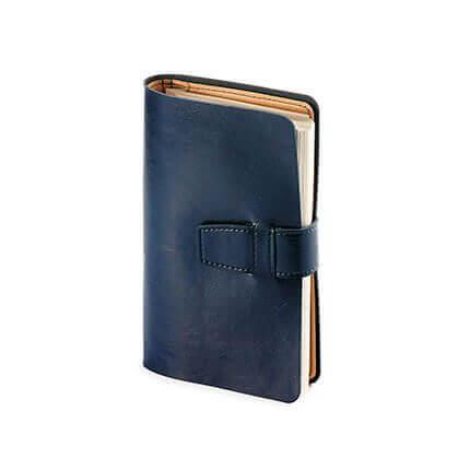 Ежедневник недатированный SIENNA, формат A5, бежевая бумага, в картонной коробке, цвет синий