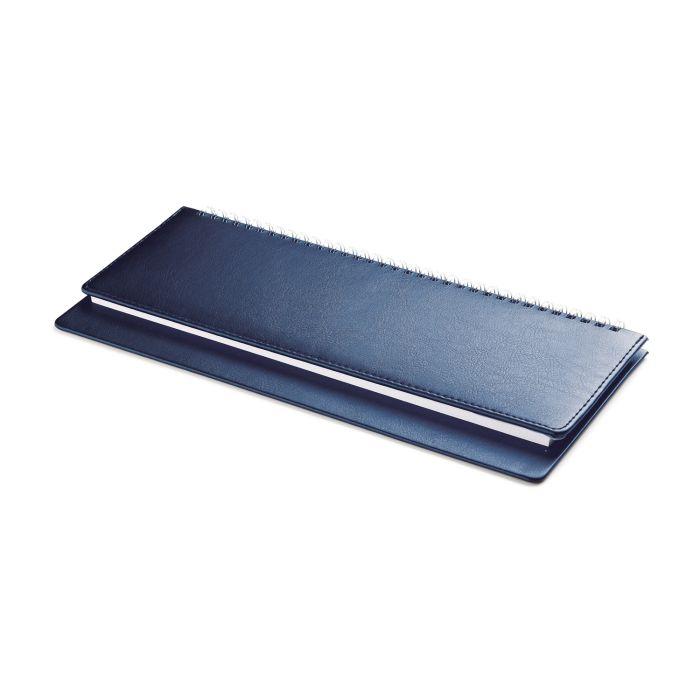 Планинг датированный SIDNEY NEBRASKA (АР), 30,5х13,2 см, белая бумага, цвет синий