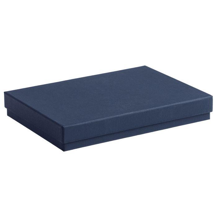 Коробка под ежедневник, формат A5, синяя