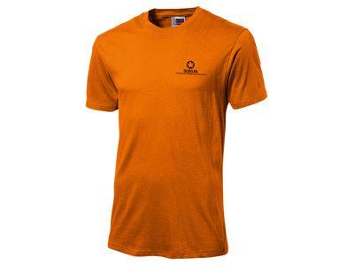 """Футболка """"Super club"""" мужская, цвет оранжевый, размер S"""