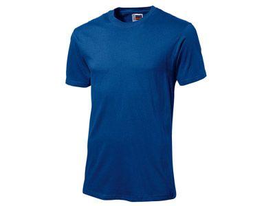 """Футболка """"Super club"""" мужская, цвет классический синий, размер M"""