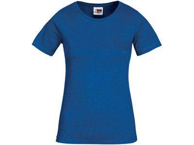 "Футболка женская ""Heavy Super Club"", цвет классический синий, размер M"