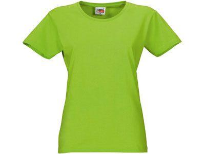 "Футболка женская ""Heavy Super Club"", цвет зелёное яблоко, размер S"