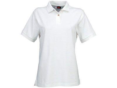 "Рубашка поло ""Boston"" женская, цвет белый, размер S"