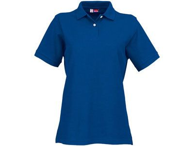 """Рубашка поло """"Boston"""" женская, цвет классический синий, размер L"""