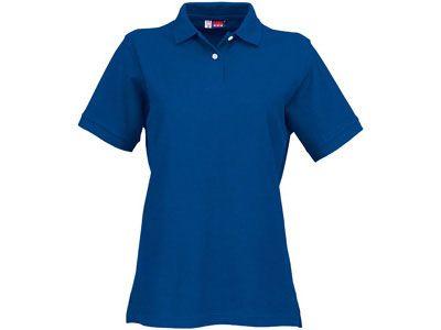 """Рубашка поло """"Boston"""" женская, цвет классический синий, размер M"""