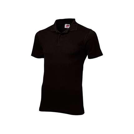 "Рубашка поло ""First"" мужская, цвет чёрный, размер 3XL"
