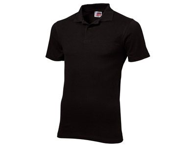 "Рубашка поло ""First"" мужская, цвет чёрный, размер L"