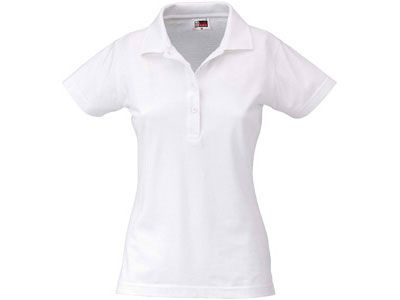 """Рубашка поло """"First"""" женская, цвет белый, размер L"""