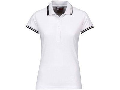 "Рубашка поло ""Erie"" женская, цвет белый, размер M"