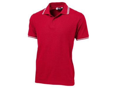 "Рубашка поло ""Erie"" мужская, цвет красный, размер 2XL"