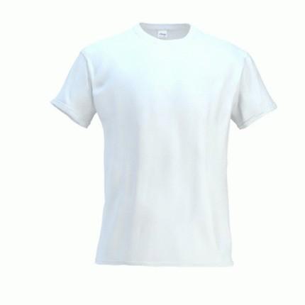Футболка мужская 02 Galant, цвет белый, размер M