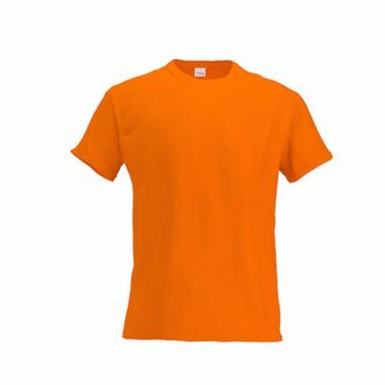 Футболка мужская 51 Action, цвет оранжевый, размер M