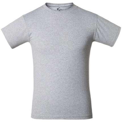Футболка T-bolka 160, серый меланж, размер S