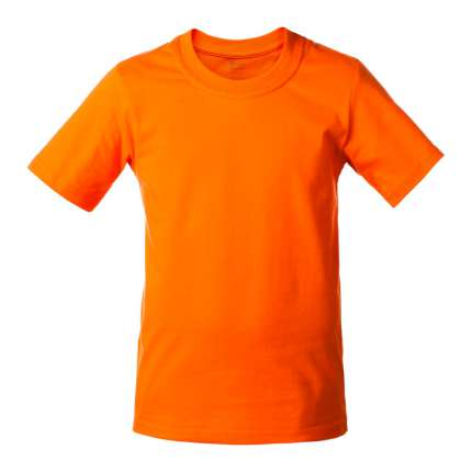 Футболка детская T-bolka Kids, оранжевая, 14 лет