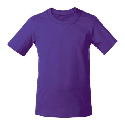 Футболка детская T-bolka Kids, фиолетовая, 14 лет