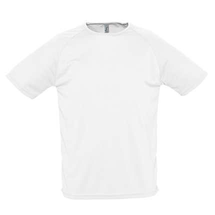 """Футболка мужская""""Sporty 140"""", белая, размер S"""