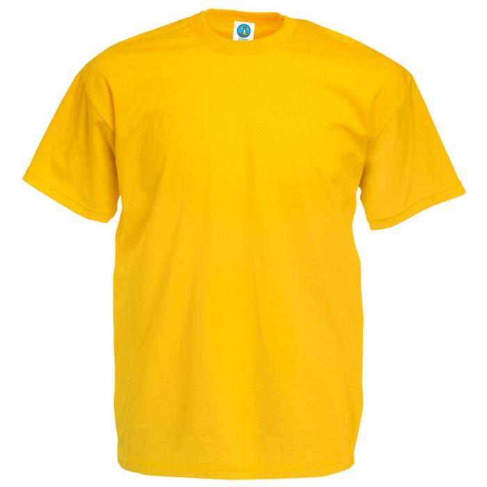 """Футболка """"Start"""", цвет жёлтый, размер L"""