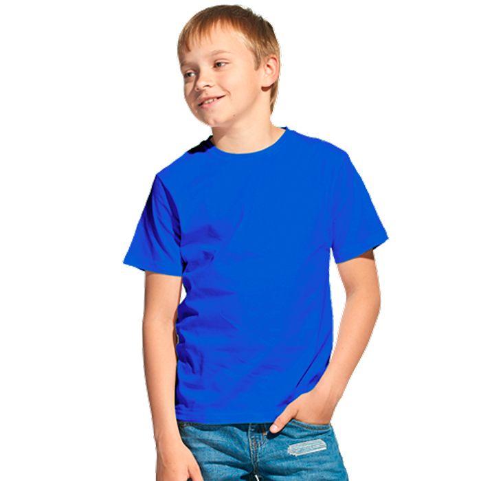 Футболка детская 06U Class, цвет синий, размер 14 лет