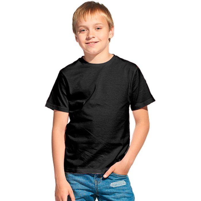 Футболка детская 06U Class, цвет чёрный, размер 10 лет