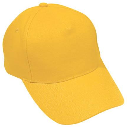 """Бейсболка """"Стандарт.175"""", цвет жёлтый"""