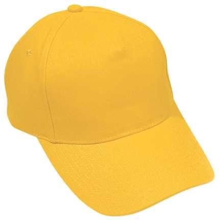 "Бейсболка ""Hit"" жёлтая"